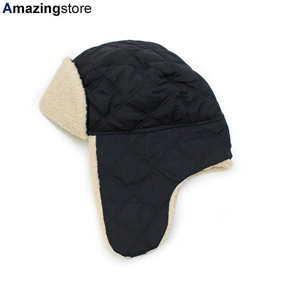 af333c6a オットー   トラッパー【QUILTED POLYESTER SHELL W/ SHEARLING LINING THREE PANEL  TRAPPER HAT】