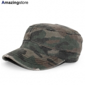 オットー ワークキャップ 【6 PANEL CAMO PRINT GARMENT WASHED SUPERIOR COTTON MILITARY CAP/CAMO】 OTTO