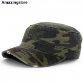 オットー ワークキャップ 【6 PANEL CAMO PRINT GARMENT WASHED SUPERIOR COTTON MILITARY CAP/CAMO-2】 OTTO
