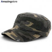 オットー ワークキャップ 【6 PANEL CAMO PRINT GARMENT WASHED SUPERIOR COTTON MILITARY CAP/CAMO-3】 OTTO
