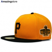ニューエラ 59FIFTY ピッツバーグ パイレーツ 【MLB 1971 WORLD SERIES/GOLD-BLK】 NEW ERA PITSBURGH PIRATES