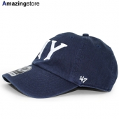 47ブランド ニューヨーク ヤンキース 【MLB COOPERSTOWN CLEAN UP STRAPBACK/NAVY】 47BRAND NEW YORK YANKEES
