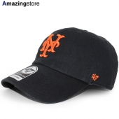 47ブランド ニューヨーク ジャイアンツ 【MLB COOPERSTOWN CLEAN UP STRAPBACK/BLK】 47BRAND NEW YORK GIANTS