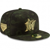 NEW ERA | ニューエラ 59FIFTY シアトル マリナーズ 【MLB 2019 ARMED FORCES STARS N STRIPES ON-FIELD/CAMO】 NEW ERA SEATTLE MARINERS
