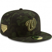 NEW ERA | ニューエラ 59FIFTY ワシントン ナショナルズ 【MLB 2019 ARMED FORCES STARS N STRIPES ON-FIELD/CAMO】 NEW ERA WASHINGTON NATIONALS