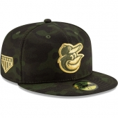 NEW ERA | ニューエラ 59FIFTY ボルチモア オリオールズ 【MLB 2019 ARMED FORCES STARS N STRIPES ON-FIELD/CAMO】 NEW ERA BALTIMORE ORIOLES