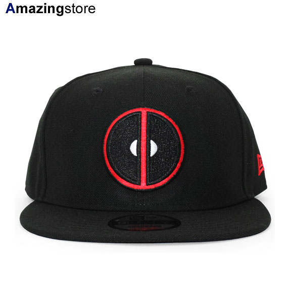 Marvel Venom Eyes New Era 9Fifty Black Snapback Cap Hat